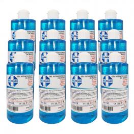 Pack 12Uds Gel Hidroalcohólico 70% 500Ml