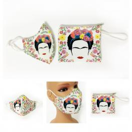 Mascarilla Lavable Mexicana Mas Funda