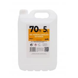 Gel Hidroalcohólico 70% Garrafa de 5 Litros