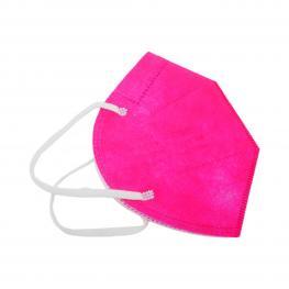 Pack 10 Mascarillas Ffp2 Rosas Sin Válvula de Protección